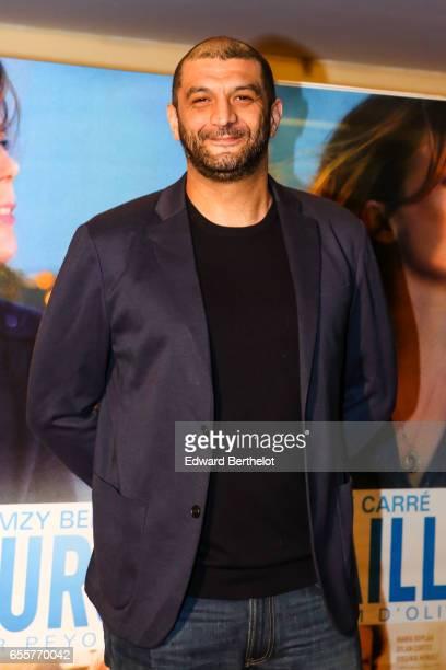 Ramzy Bedia attends the 'Une Vie Ailleurs' Paris Premiere at UGC Cine Cite des Halles on March 20 2017 in Paris France