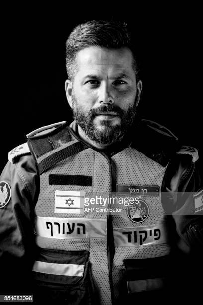 Ran Maman a 39yearold member of the Israeli Defence Force who arrived to help in the rescue operations after the 71 earthquake that hit Mexico on...
