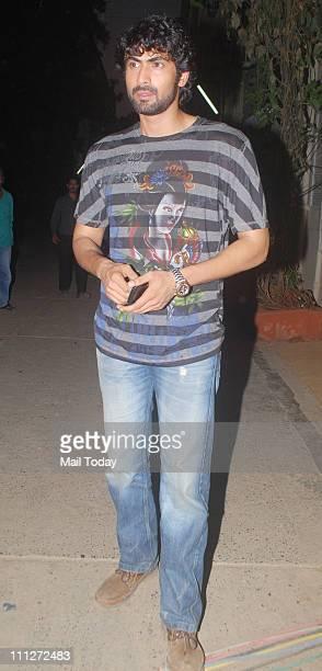Rana Daggubati at an event to promote his upcoming film Dum Maaro Dum