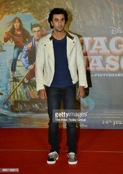 Ranbir Kapoor during the second song launch of film Jagga Jasoos 'Galti Se Mistake' in Mumbai