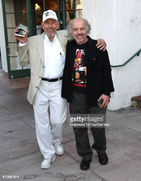 Rance Howard and Clint Howard are seen on April 24 2017 in Los Angeles CA
