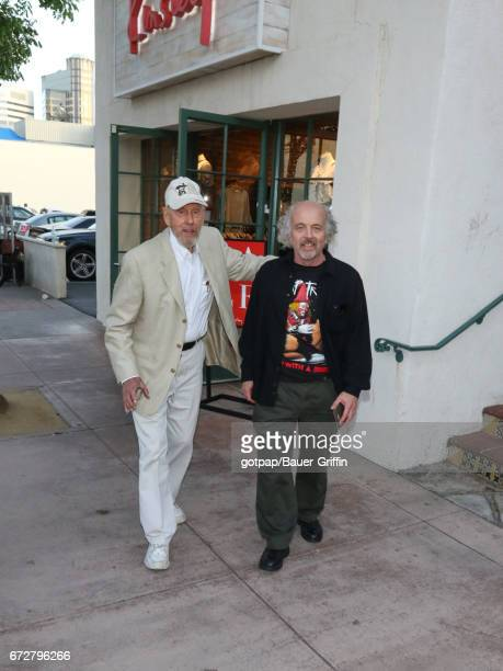 Rance Howard and Clint Howard are seen on April 24 2017 in Los Angeles California