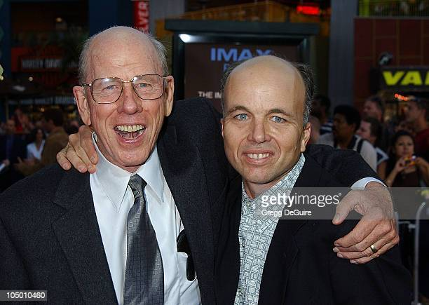 Rance Howard son Clint Howard during World Premiere Of 'Apollo 13 The IMAX Experience' at Universal Studios Hollywood IMAX Theatre in Universal City...