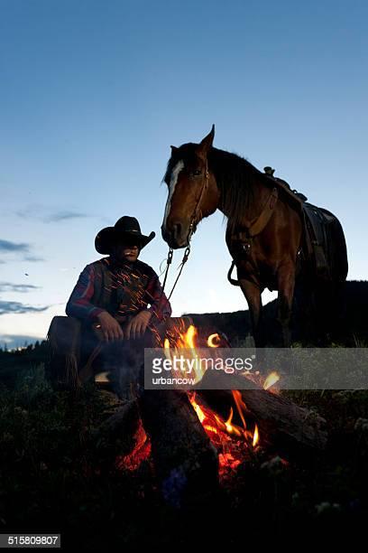 Ranch campfire