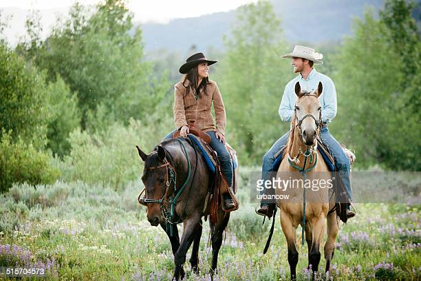 Rancher Paar, Montana