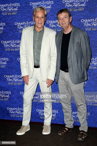 Randal Kleiser and Pierre Lemaitre attend Closing Ceremony of 6th Champs Elysees Film Festival on June 22 2017 in Paris France