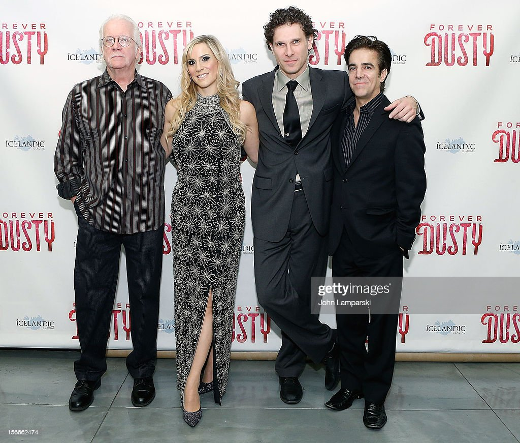 Randal Myler, Kirsten Holly Smith, Jonathan Vankin and guest attend the 'Forever Dusty' Opening Night at New World Stages on November 18, 2012 in New York City.