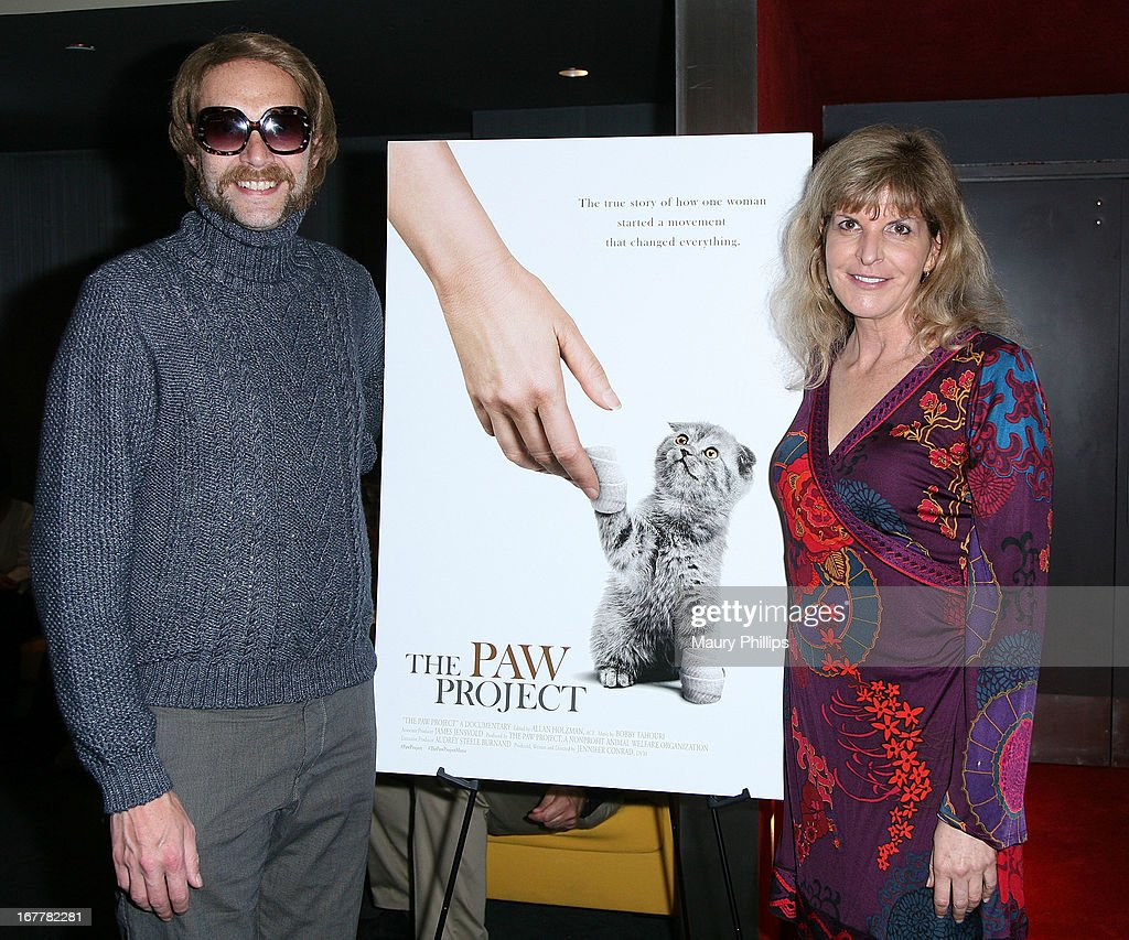 Randall and Jennifer Conrad attend The Paw Project Premiere on April 29, 2013 in West Hollywood, California.