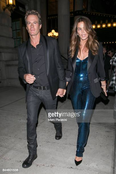 Rande Gerber and Cindy Crawford are seen in New York City