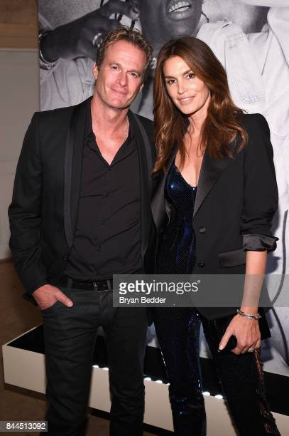 Rande Gerber and Cindy Crawford attend Harper's BAZAAR Celebration of 'ICONS By Carine Roitfeld' at The Plaza Hotel presented by Infor Laura Mercier...