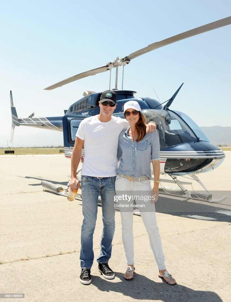 <a gi-track='captionPersonalityLinkClicked' href=/galleries/search?phrase=Rande+Gerber&family=editorial&specificpeople=549565 ng-click='$event.stopPropagation()'>Rande Gerber</a> (L) and model/actress <a gi-track='captionPersonalityLinkClicked' href=/galleries/search?phrase=Cindy+Crawford&family=editorial&specificpeople=202842 ng-click='$event.stopPropagation()'>Cindy Crawford</a> attend The Horsemen Flight Team Event Hosted By Dan Friedkin And Lauren Sanchez Whitesell, sponsored by Casamigos Tequila and Caliche Rum on May 3, 2014 in Chino, California.