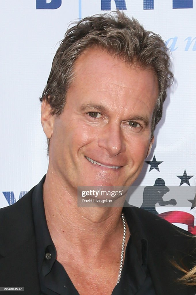 Rande Gerber arrives at the 7th Annual Big Fighters, Big Cause Charity Boxing Night Benefiting The Sugar Ray Leonard Foundation at The Ray Dolby Ballroom at Hollywood & Highland Center on May 25, 2016 in Hollywood, California.