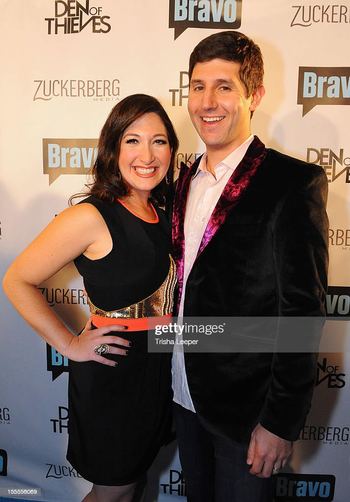Randi Zuckerberg and husband Brent Tworetzky attend Bravo's 'Start-Ups; Silicon Vallery' Premire Party at RF-80 on November 4, 2012 in San Francisco, California.