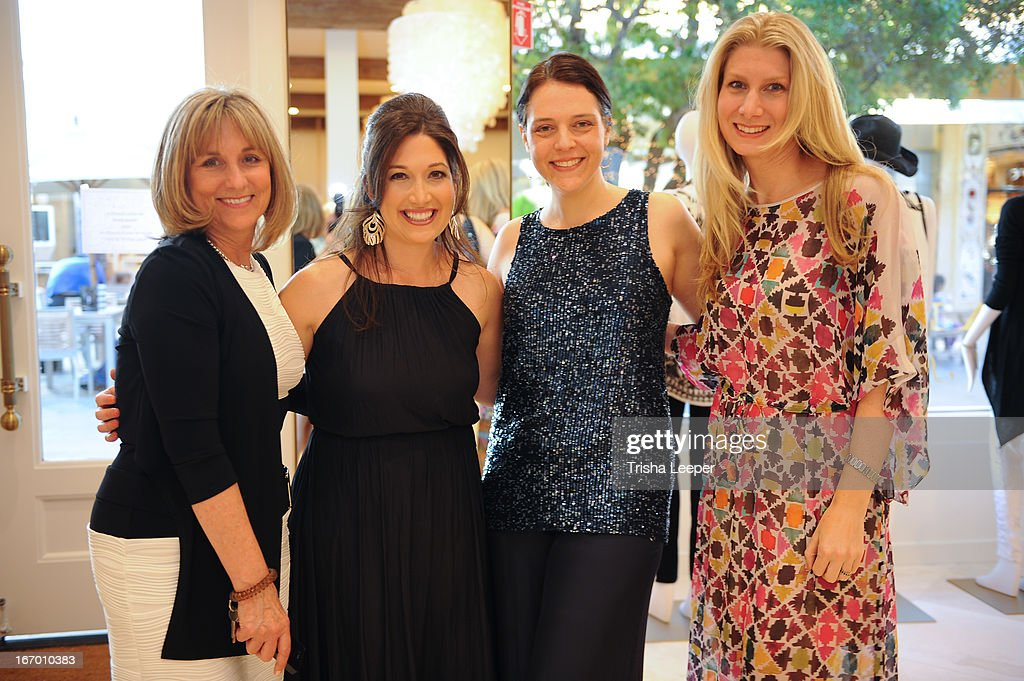 Randi Zuckerberg (C) attends 'A Balanced Life' discussion panel event at Calypso St. Barth at Stanford Shopping Center on April 18, 2013 in Palo Alto, California.