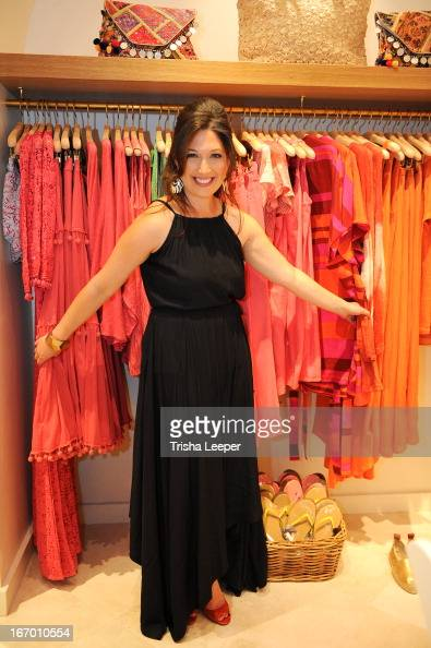 Randi Zuckerberg attends 'A Balanced Life' discussion panel event at Calypso St Barth at Stanford Shopping Center on April 18 2013 in Palo Alto...