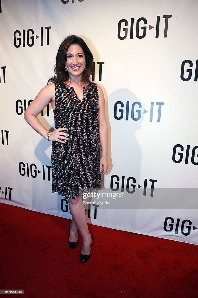Randi Zuckerberg attends the Gig-It Launch Party at Capitale Bowery on April 30, 2013 in New York City.