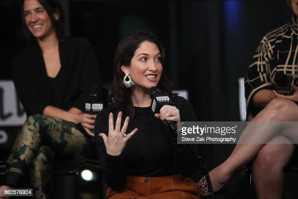 Randi Zuckerberg speaks at Gretchen Carlson's Be Fierce Tech Panel at Build Studio on October 17 2017 in New York City