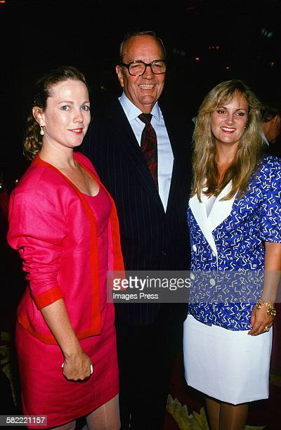 Randolph A Hearst and daughters Anne Hearst and Patricia Hearst circa 1989 in New York City