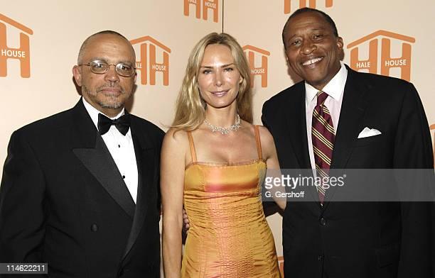 Randolph McLaughlin Executive Director Hale House Valesca GuerrandHermes philanthropist and honoree and Zachary Carter Chairman Hale House
