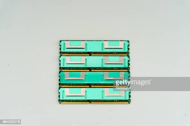 Random-access memory or RAM