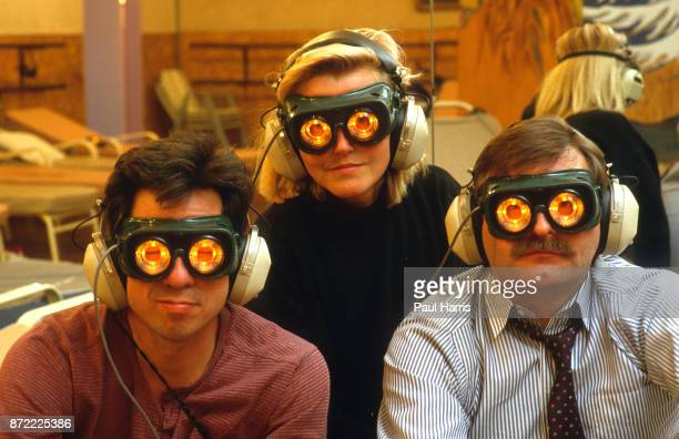 Randy Adamadama's Universe of You An exercise gym for the brain in Sausalito They look like hapless subjects in a mad scientist's research project...