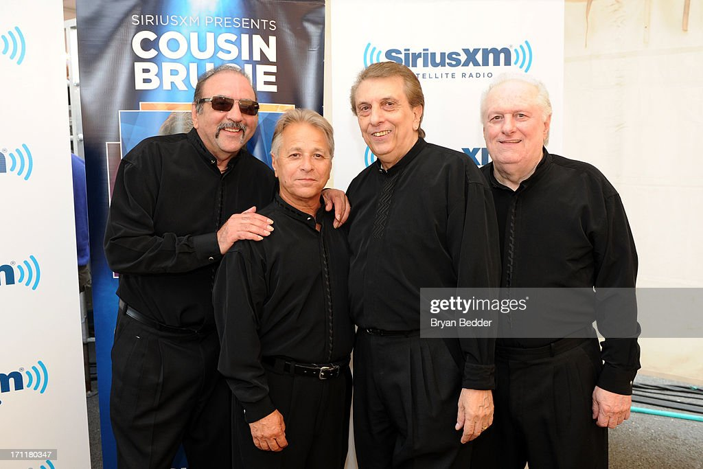 Randy and The Rainbows attends the Cousin Brucie's First Annual Palisades Park Reunion presented by SiriusXM on June 22, 2013 in East Rutherford, New Jersey.