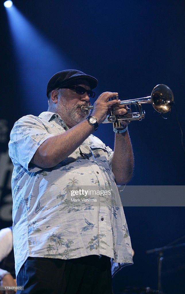 Randy Brecker performs at Day 2 of the North Sea Jazz Festival at Ahoy on July 13, 2013 in Rotterdam, Netherlands.
