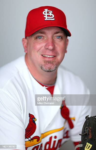 Randy Choate of the St Louis Cardinals poses during photo day at Roger Dean Stadium on February 19 2013 in Jupiter Florida