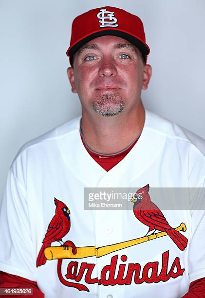 Randy Choate of the St Louis Cardinals poses for a portrait during photo day at Roger Dean Stadium on March 2 2015 in Jupiter Florida