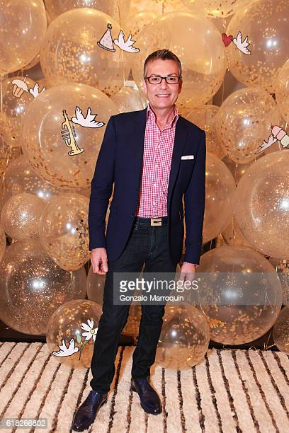 Randy Fenoli at the Darcy Miller's 'Celebrate Everything' Launch at Jonathan Adler Showroom at Jonathan Adler Showroom on October 25 2016 in New York...