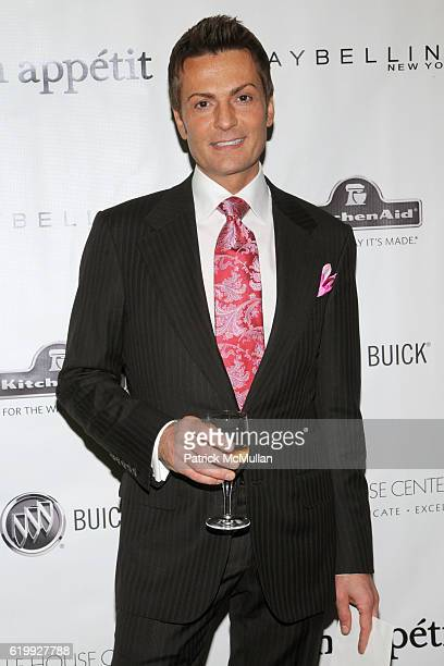 Randy Fenoli attends HALE HOUSE Charity at Bon Appétit Supper Club and Cafe at Bon Appétit Supper Club and Cafe on October 30 2008 in New York City