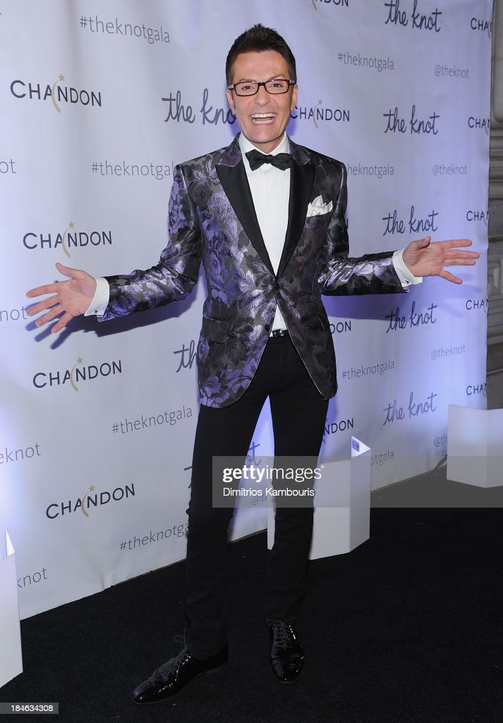 Randy Fenoli attends the Knot Gala 2013 at New York Public Library - Astor Hall on October 14, 2013 in New York City.