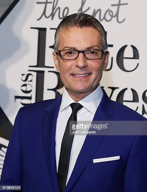 Randy Fenoli attends The Knot Gala 2016 at New York Public Library on October 10 2016 in New York City