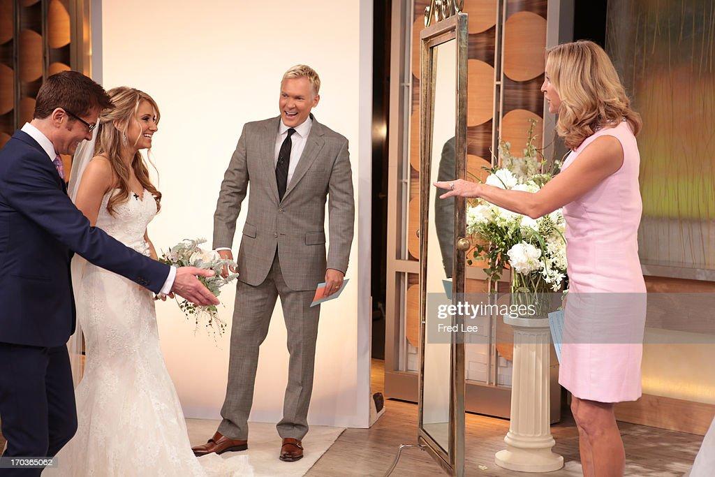 AMERICA - Randy Fenoli shares wedding dress fashions on 'Good Morning America,' 6/11/13, airing on the ABC Television Network. RANDY