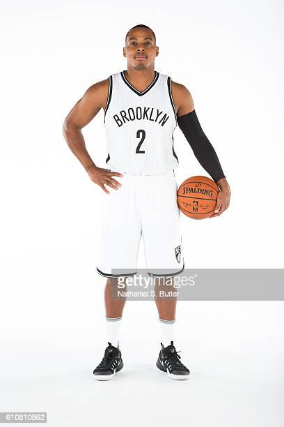 Randy Foye of the Brooklyn Nets poses for a portrait during the 20162017 Brooklyn Nets Media Day at the Hospital for Special Surgery Training Center...