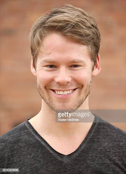 Randy Harrison attends the Meet Greet for the Roundabout Theatre Company's National tour production of 'Cabaret' at Gibney Studios on January 8 2016...