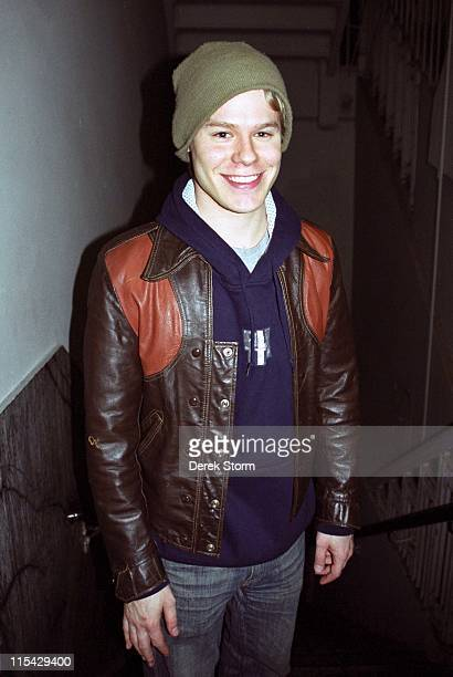 Randy Harrison during Randy Harrison exits the play 'Letter From Ethel Kennedy' April 30 2002 at MCC Theater in New York City New York United States