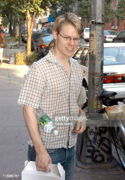 Randy Harrison during Randy Harrison Sighting in Greenwich Village August 10 2004 at Greenwich Village in New York City New York United States