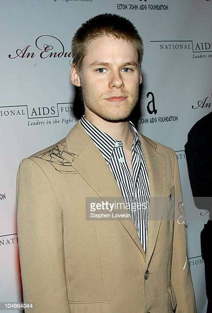 Randy Harrison from 'Queer as Folk' during Elton John AIDS Foundation Second Annual Gala at Capitale in New York City NY United States