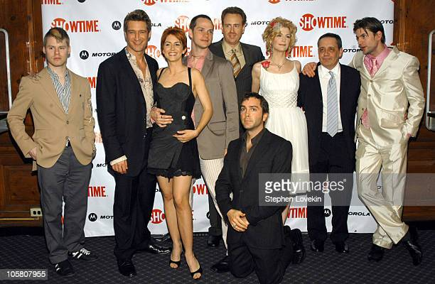 Randy Harrison Robert Gant Michelle Clunie Peter PAige President of Entertainment Showtime Robert Greenblatt Scott Lowell Thea Gill Queer as Folk...
