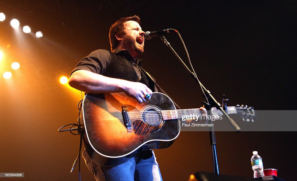 Randy Houser performs at Nash Bash at Roseland Ballroom on February 18, 2013 in New York City.