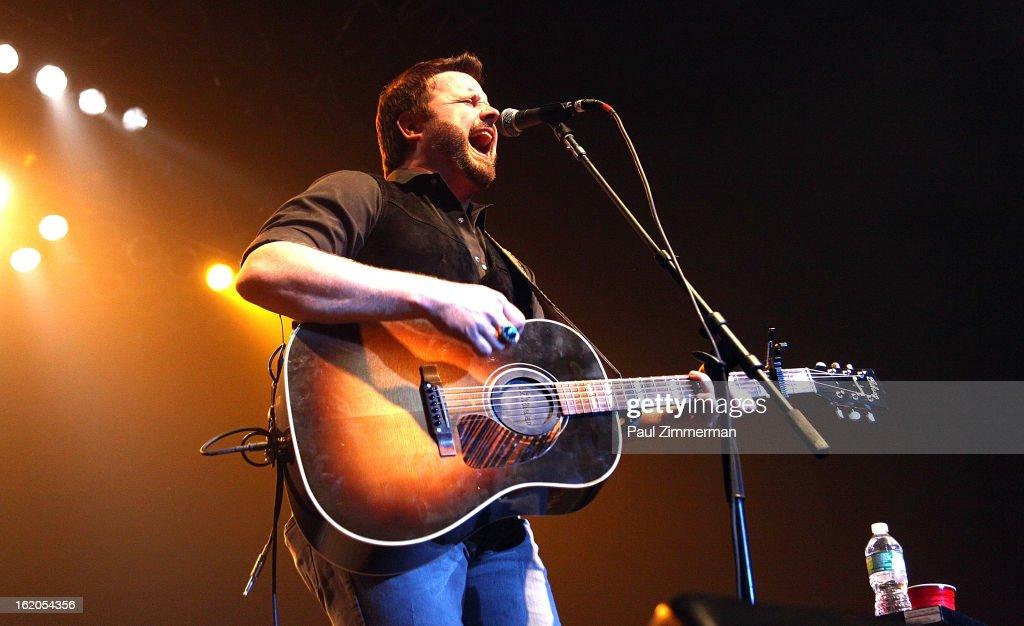 Randy Houser performs at Nash Bash at Roseland Ballroom on February 18, 2013 in New York City.