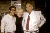 Randy Hyden and Actress/Singer Joey Heather and attorney William Kunstler on September 10 1986 sighting at William Kunstler's Law Office in New York...