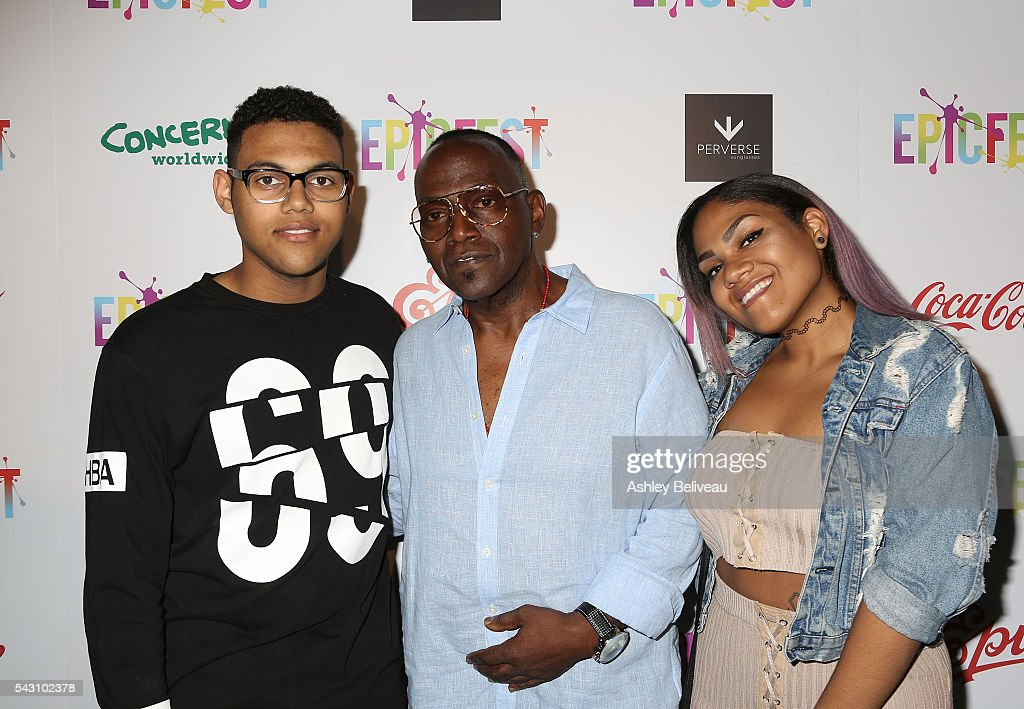 Randy Jackson and family attend EpicFest 2016 hosted by L.A. Reid and Epic Records at Sony Studios on June 25, 2016 in Los Angeles, California.