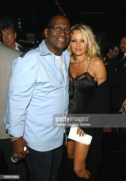 Randy Jackson and Pamela Anderson during LA Chapter of The Recording Academy with EIF Celebrate the Music of Earth Wind Fire at GRAMMY Jam 2004...