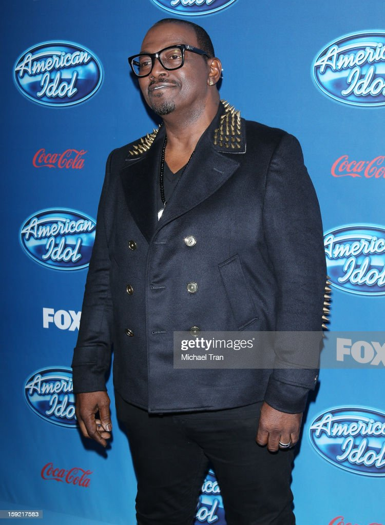 Randy Jackson arrives at American Idol Season 12 premiere event held at Royce Hall UCLA on January 9, 2013 in Westwood, California.