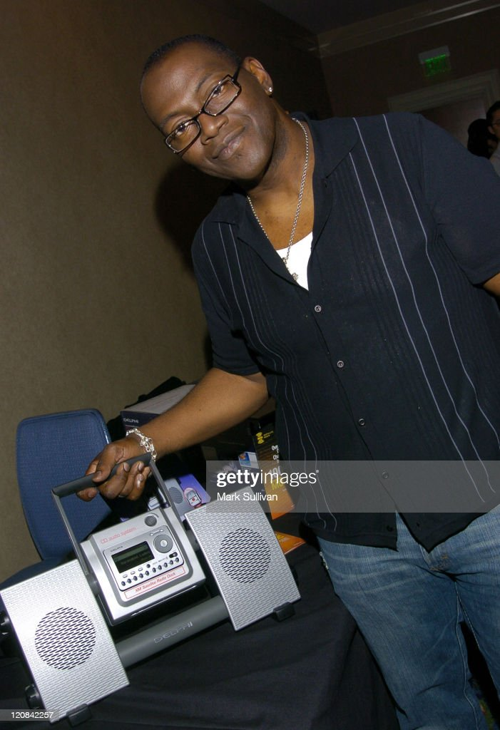 Randy Jackson in Backstage Creations-The Talent Retreat