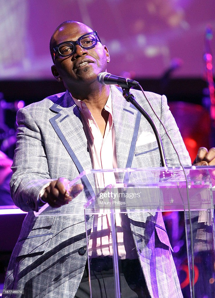 Randy Jackson speaks onstage during Architects of Sound: Motown at The GRAMMY Museum on November 11, 2013 in Los Angeles, California.