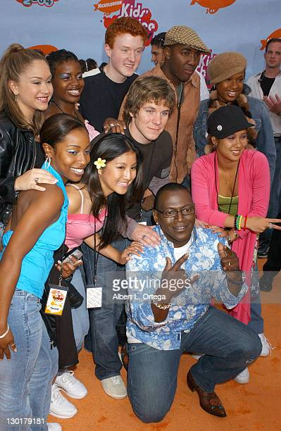 Randy Jackson with the 'American Idol' finalists during Nickelodeon's 17th Annual Kids' Choice Awards Arrivals at Pauley Pavillion in Westwood...