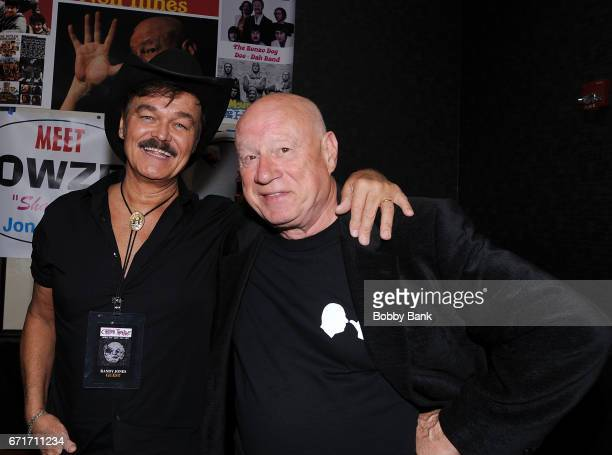 Randy Jones and Neil Innes attend Chiller Theatre Expo Spring 2017 at Hilton Parsippany on April 22 2017 in Parsippany New Jersey